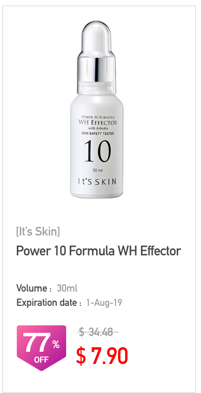 It's Skin Power 10 Formula WH Effector